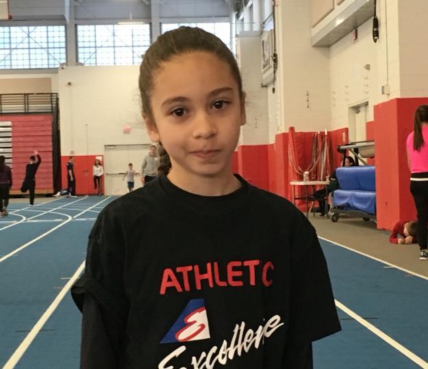 Long Island Championships silver medalist, Bella Randazzo !